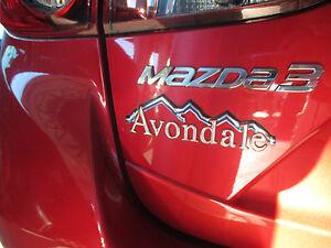 Mazda-3-2014-2015-Neuf-OEM-Arriere-MAZDA3-Hatchback-Chrome-Embleme-BHN9-51-721