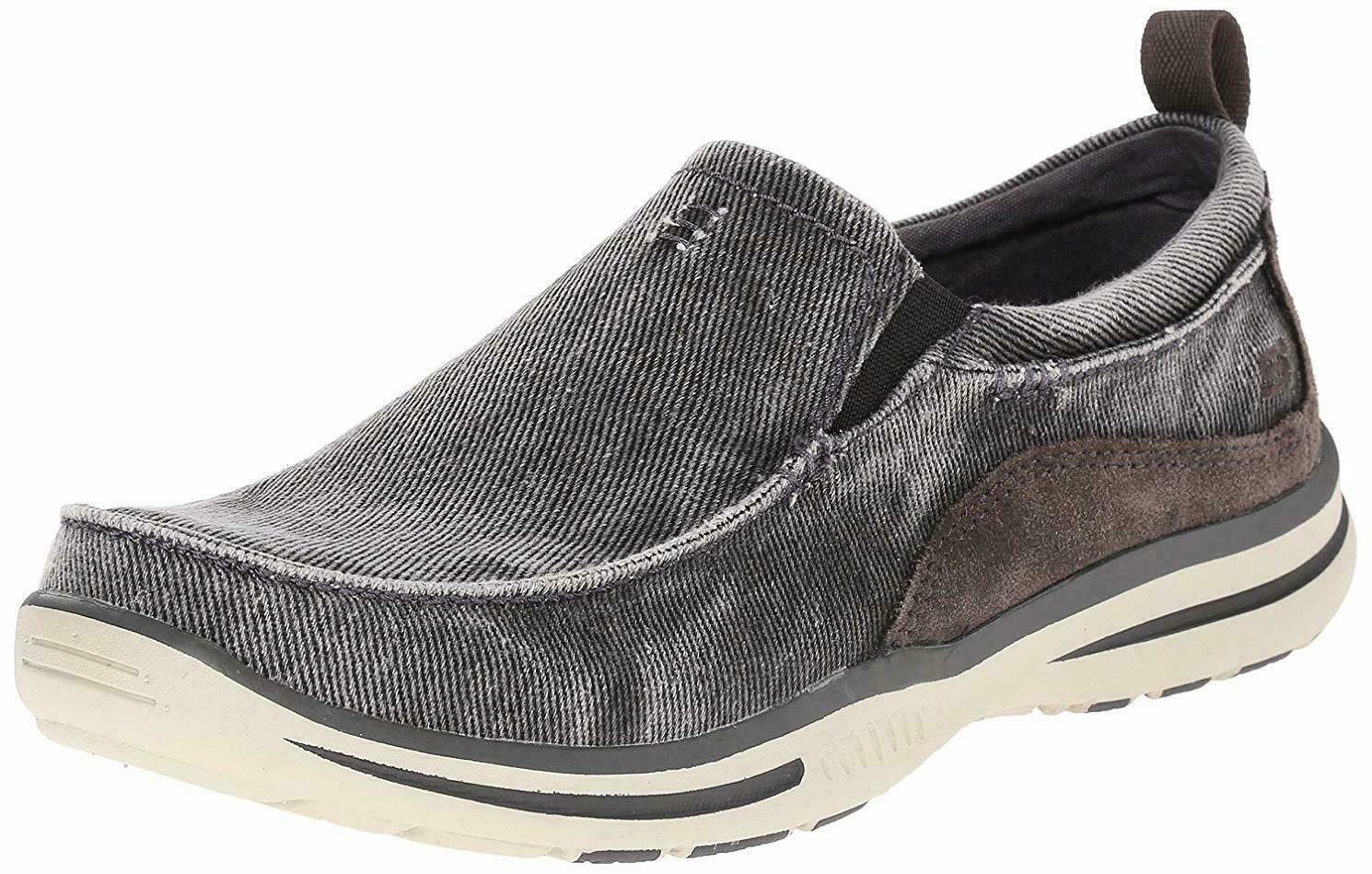Skechers Men/'s Relaxed Fit Elected Drigo Slip-On Loafer Choose SZ//Color