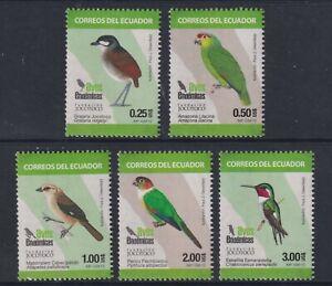 Ecuador - 2015, Birds set - MNH