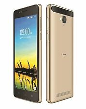 Lava A79 Gold 8GB 5.5 inch display 5 MP Camera Android 5.1 Front LED Flash