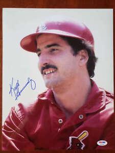 Keith-Hernandez-Psa-Dna-Coa-Hand-Signed-11x14-Cardinals-Photo-Autograph