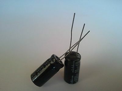 2 Capacitor Nichicon - 10uf 450V 10mfd 105 degrees + USA FREE SHIPPING