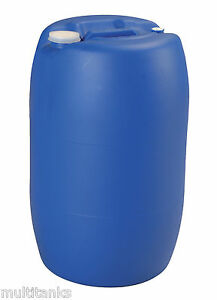 bidon 60 litres 60l jerrycan fut baril plastique alimentaire bondes ebay. Black Bedroom Furniture Sets. Home Design Ideas