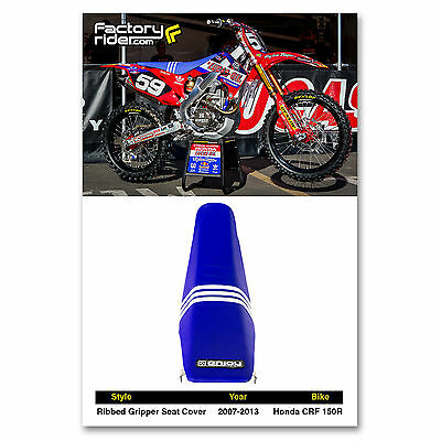 New Honda RED Gripper Seat cover CRF150R 2007-2016