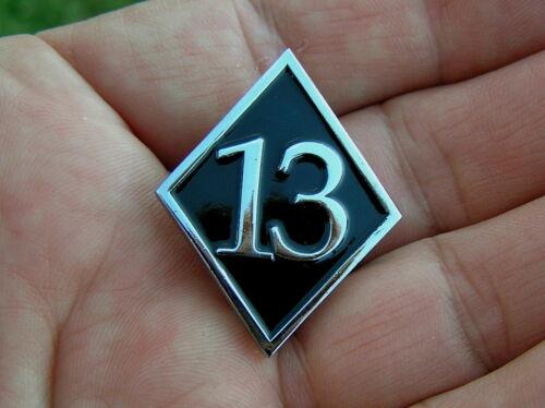 # 13 VEST PIN Badge HIGH QUALITY Motorcycle suit Harley Davidson Biker Lapel Hat