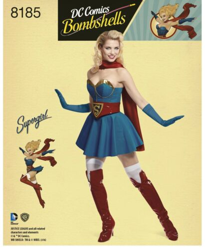 New Simplicity Sewing Pattern Licensed Super Hero Cosplay Costumes You Pick