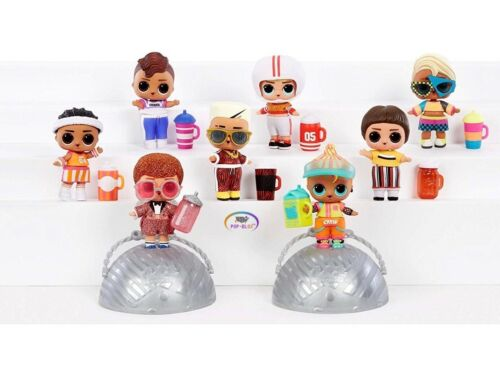 LOL Surprise Series 2 Boys Bro Cheer Color Changer NEW Cheerleader Brother Boi