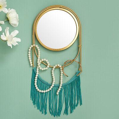 Nordic Luxury Tassel Wall Mounted Mirror Diy Hanging Home Living Room Decor Ebay