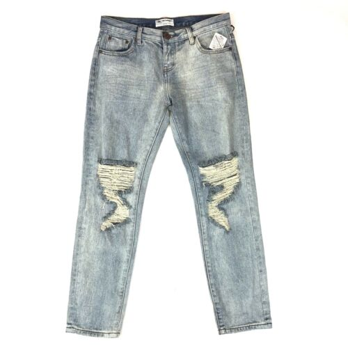 donna Wash jeans taglia cucchiaino Romance Baggies Light di Un con un Destroyed paio da 27 Awesome Ia6TqT1x