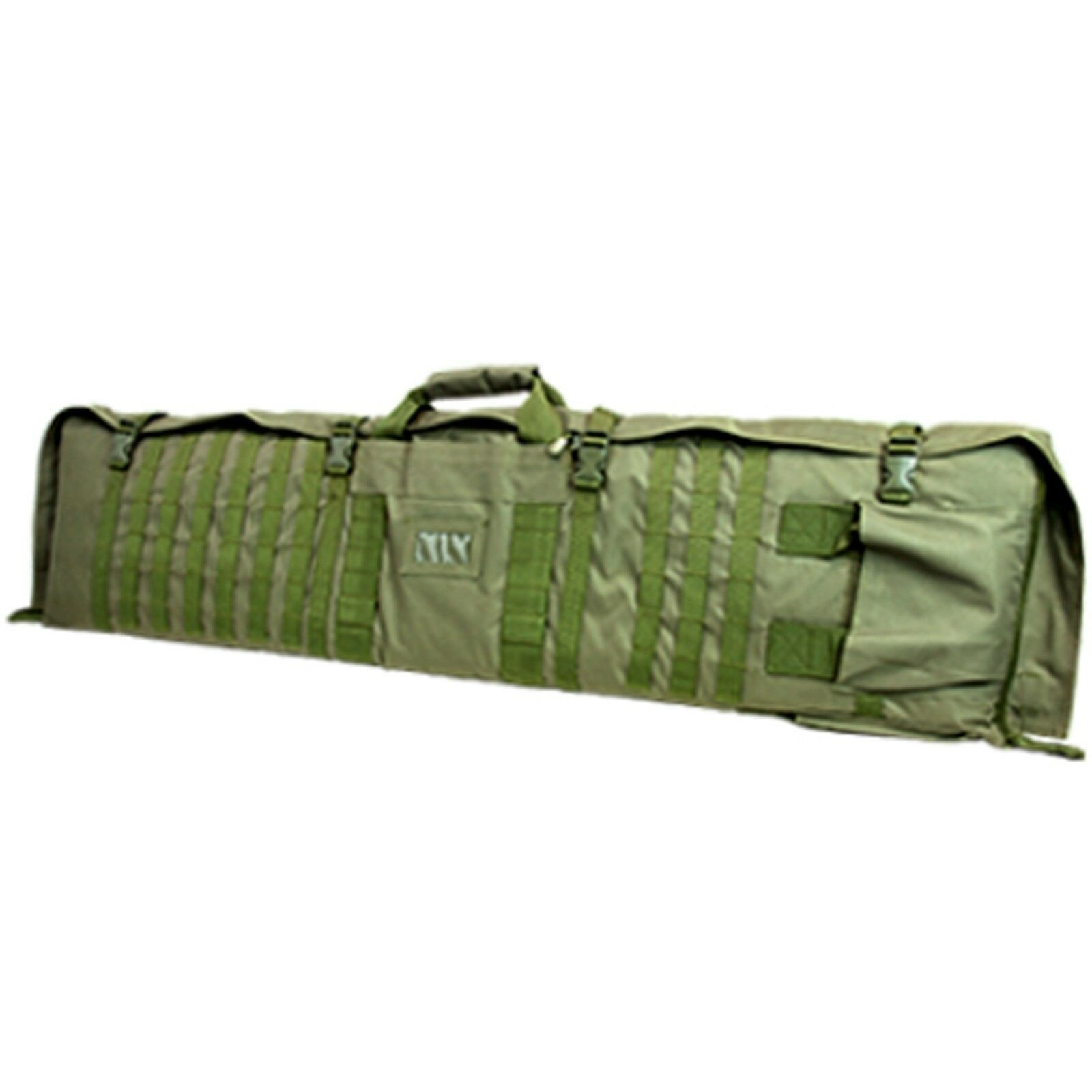 NcSTAR  48  Tactical Military Rifle Case Range MOLLE Shooting Mat Combo OD Green  trendy