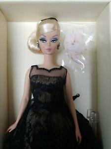 Silkstone-barbie-cocktail-dress-doll-worldwide-ship