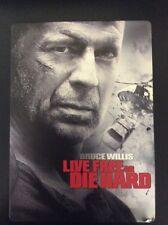 Die Hard 4: Live Free or Die Hard (DVD, 2007, 2-Disc Set, Unrated) Steelbook