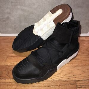 new concept 056d0 c6cfe Image is loading Alexander-Wang-AW-BBALL-Adidas-Basketball-Black-White-