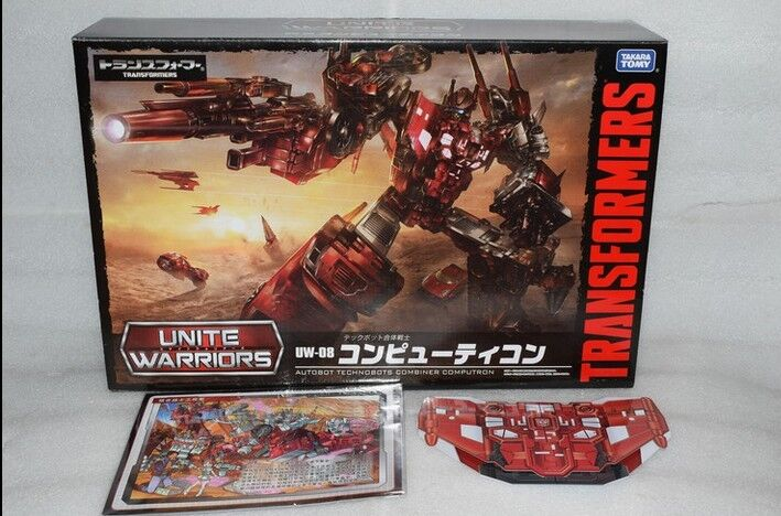 Transformers Takara Tomy UW08 unire Guerrieri UW-08 COMPUTRON Figura in magazzino