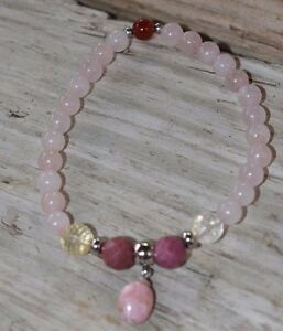 Rose-Quartz-Love-Joy-Bracelet-Rhodochrosite-Citrine-Rhodonite-Crystal-Healing