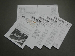 1965 Buick Riviera Clamshell Headlight Shop Manual Repair border=