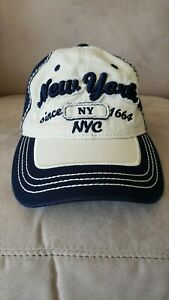 NEW! Torkia Apparel New York Baseball Hat NYC Adjustable Cap NWT