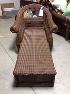 Fabulous Frontgate Charleston Wicker Outdoor Chaise Lounge Chair Pdpeps Interior Chair Design Pdpepsorg