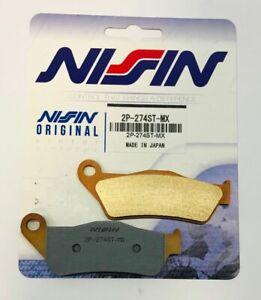 2P-274 NISSIN PASTIGLIE FRENO ANTERIORI SINTERIZZATE KTM ADVENTURE S 950 2003