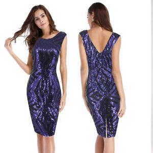 Caricamento dell immagine in corso Elegante-raffinato-abito-vestito-corto- tubino-blu-evento- 54692600745