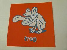 FROG RED SQUARE cranium hullabaloo replacement pad single piece one mat