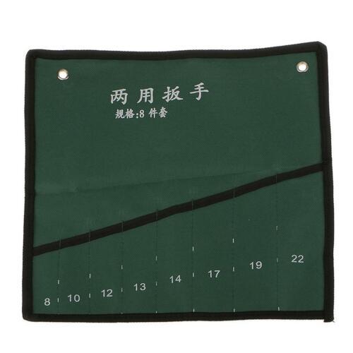 8//10//14-Pockets Hardware Storage Tools Bag Canvas Handy Pouch Handbag Roll Up