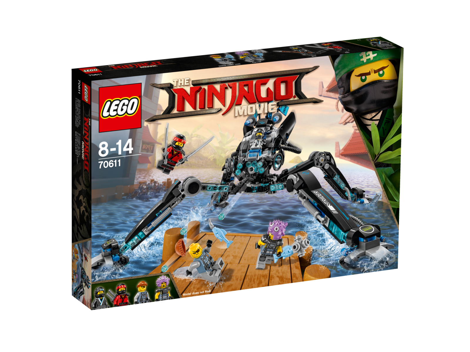 LEGO ® The LEGO ® Ninjago ® Movie ™ 70611 Nya's acqua-Walker NUOVO OVP _ NEW MISB NRFB