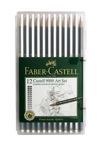 7d54f59501 Image is loading Faber-Castell-9000-Art-Graphite-Artist-Sketching-Drawing-