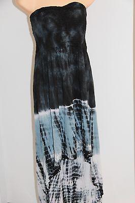 NWT Raviya Swimsuit Cover Up Dress or Skirt Strapless Sz M Black