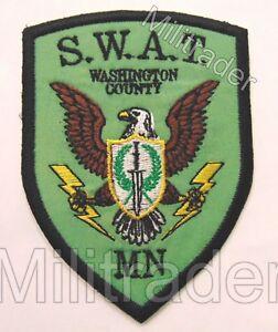 Minnesota Washington County SWAT Patch