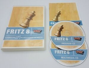 Fritz-Chess-8-PC-CD-ROM-Free-Fast-P-amp-P-by-Chessbase