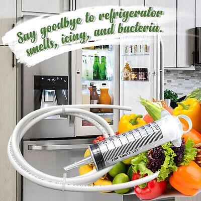 Herramienta de Dragado de Drenaje de refrigerador Hua Hao 6 Piezas Removedor de Orificios de Drenaje de frigor/ífico Kit de Herramientas de Limpieza Cepillo de fregado Flexible para refrigerador