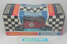 """SCALEXTRIC TRI-ANG VINTAGE ANNI'60 """"RAZZA Tuned 'FIAT TC600 (Bambino) Rosso C99 in scatola +"""