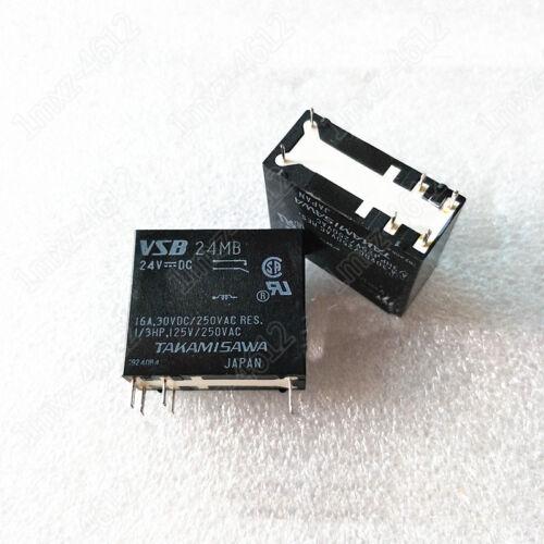 2pcs  used relay VSB-24MB 24VDC