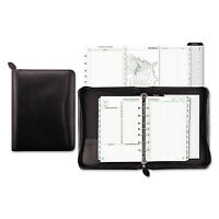Day-timer Recycled Bonded Leather Starter Set 5 1/2 X 8 1/2 Black Cover 41745 on sale
