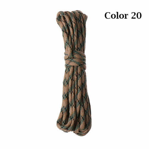 Diameter 4mm Survival kit Paracord Cord Rope Parachute Cord Lanyard Tent Ropes