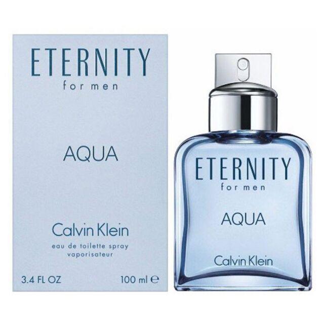 CALVIN KLEIN ETERNITY AQUA FOR MEN 100ML EDT SPRAY BRAND NEW & SEALED