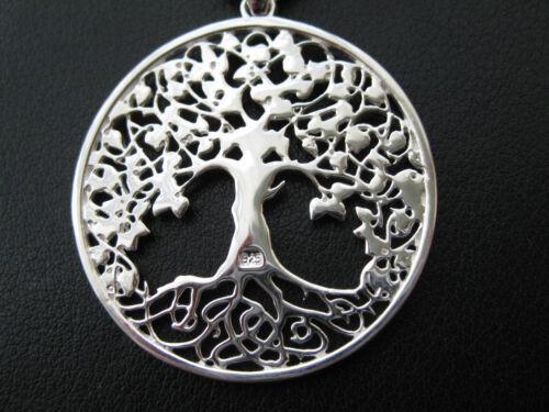 KA 318 Lebensbaum Gross 925/'er Silber rhodiniert Band Weltenbaum Lux XL