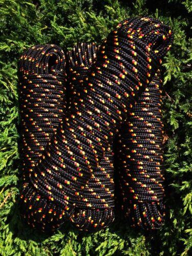 Nr.39 Schwarze Seile 12 mm,30m,Reep,Rope,Bootsleine,Ankerleine,Festmacherleine,