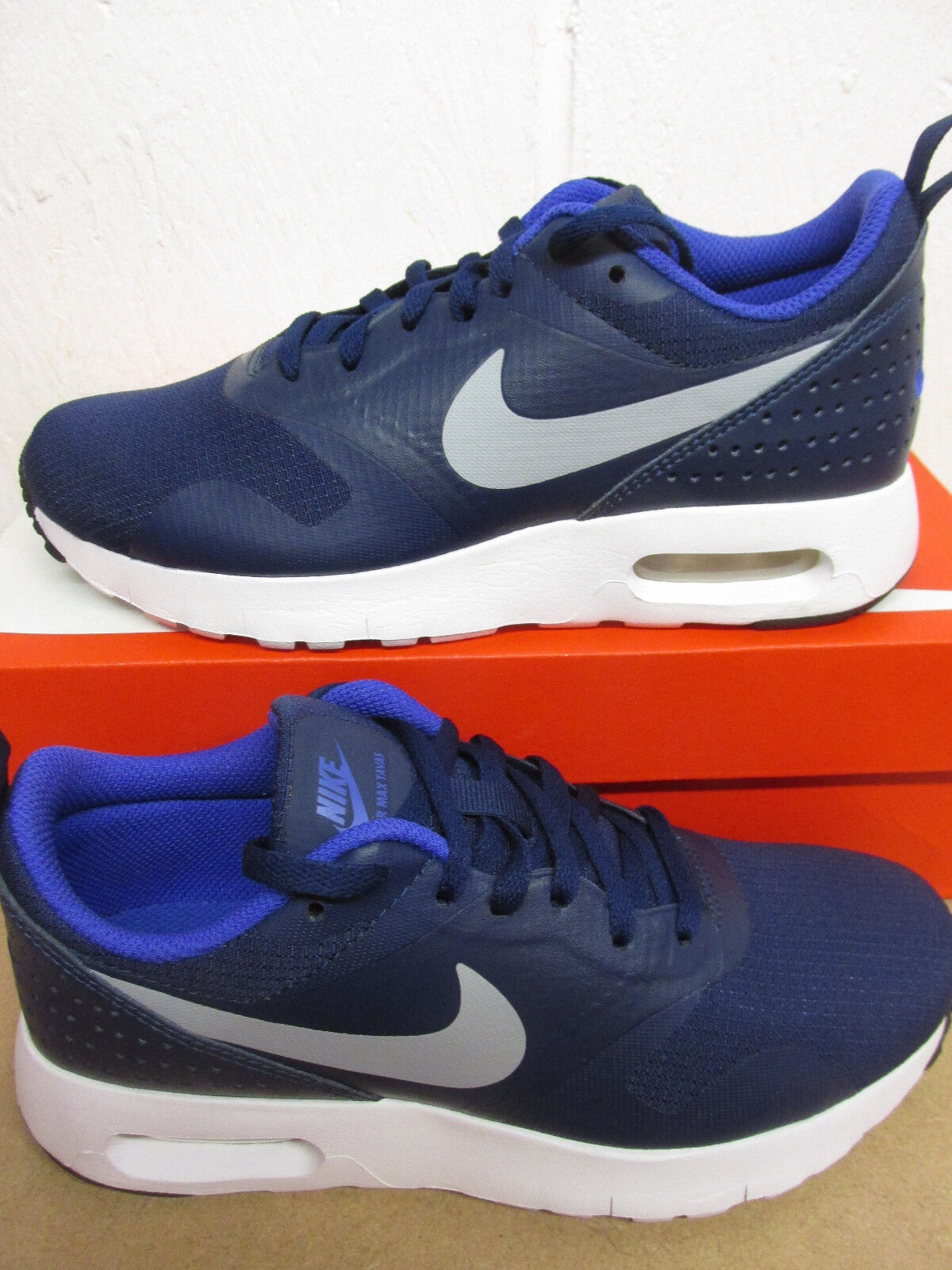 Nike Trainers Air Max Tavas (GS) Running Trainers Nike 814443 404 Sneakers Shoes 3899ef