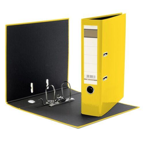 Aktenordner 75mm breit DIN A4 Farbe gelb
