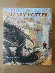 SIGNED-1ST-EDITION-of-HARRY-POTTER-AND-THE-GOBLET-OF-FIRE-J-K-ROWLING-amp-JIM-KAY