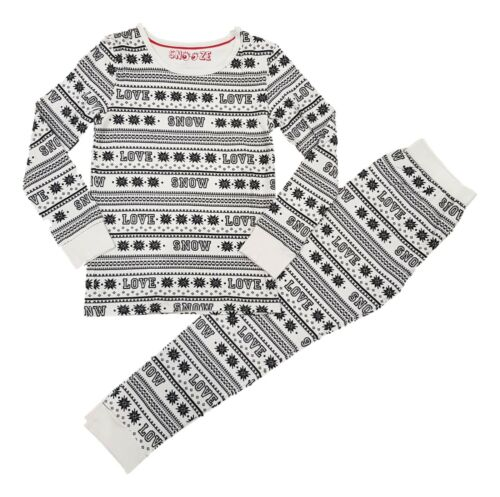 Boys Girls Kids Christmas Xmas Santa PJs Pyjamas Outfit Long PJ Gift Cotton NEW