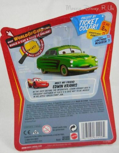New Disney Pixar CARS Race O Rama Diecast Chief RPM #77 Vehicle 1:55 Toy