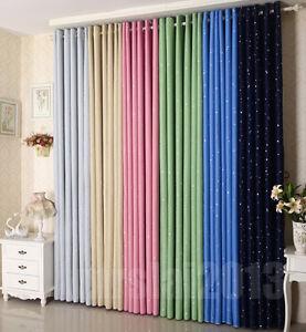 vorhang blickdicht schlaufenschal thermo verdunklungsgardine kr uselband gardine ebay. Black Bedroom Furniture Sets. Home Design Ideas