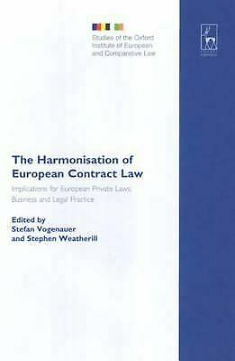 Harmonisation of European Contract Law : Implications for European Pri-ExLibrary