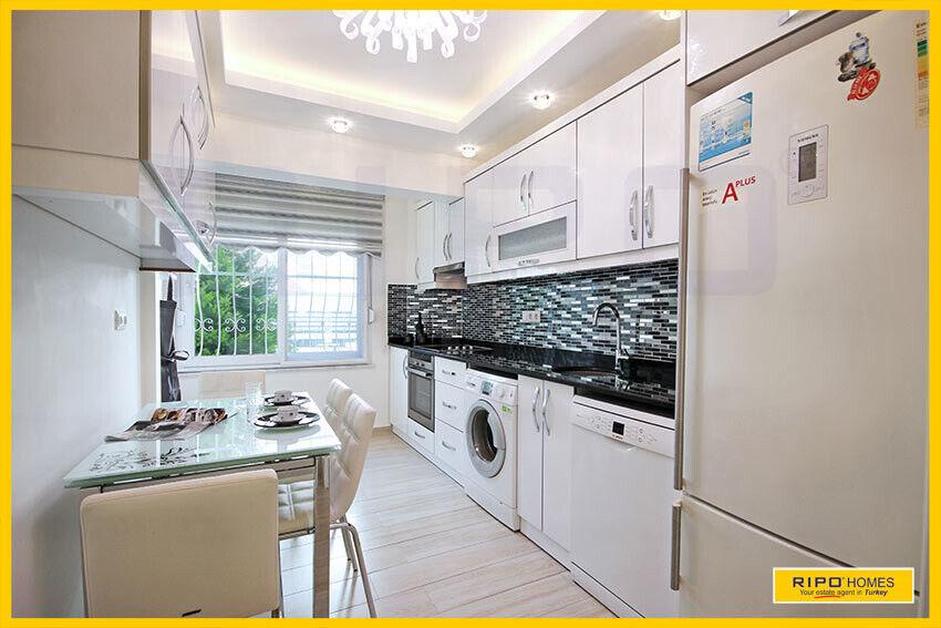 SOLGT!  Alanya - Lejlighed med perfekt beliggen...