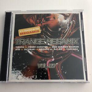 2004-Trance-Megamix-Vol-07-Audio-CD-71-Tracks-Electronica-Good-Shape-Classic