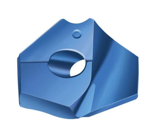 """WALTER DRILL INSERT 15//16/"""" 23.8MM 6306778 P6001-D23,80R WPP45C GRADE NEW UNUSED"""
