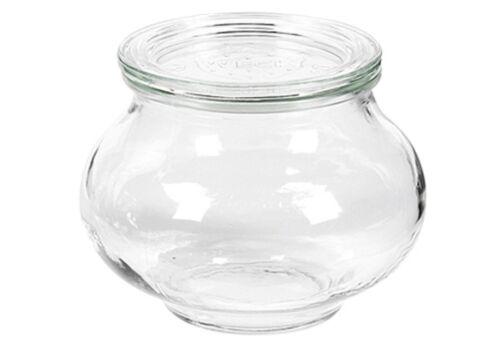00010558 12 Stück Multipack Weck-Glas Schmuckform 220 ml